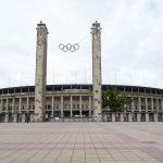 Stade olympique où se déroulèrent les J.O de 1936