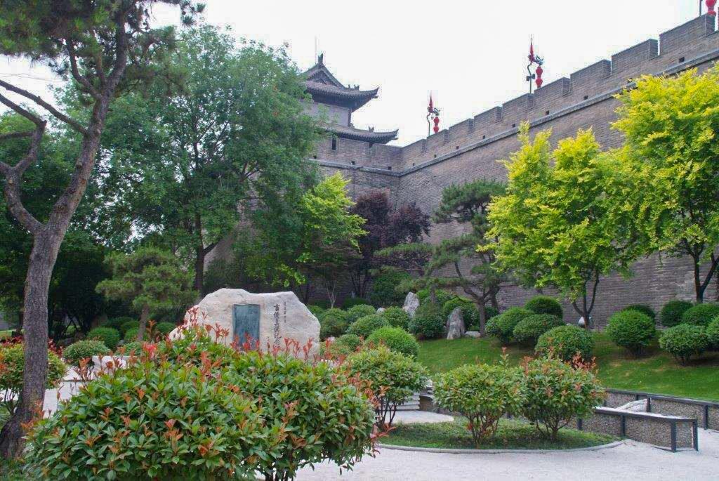 Remparts à Xian